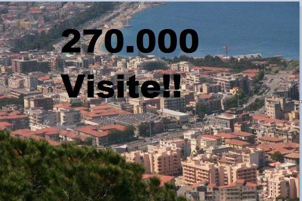 Nuovo Record del Blog: Superata Quota 270.000Visite!!