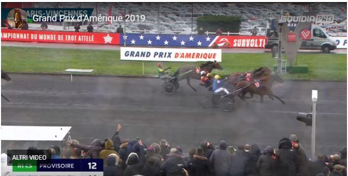Ippica, Francia: Il Prix D'amerique 2019 di Domenica 27/01 vinto da Belina Josselyn e Jean MichelBazire