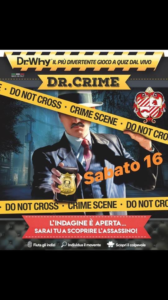 palio di Fucecchio, Contrada Borgonovo: 16/02 CenaDr.Dective