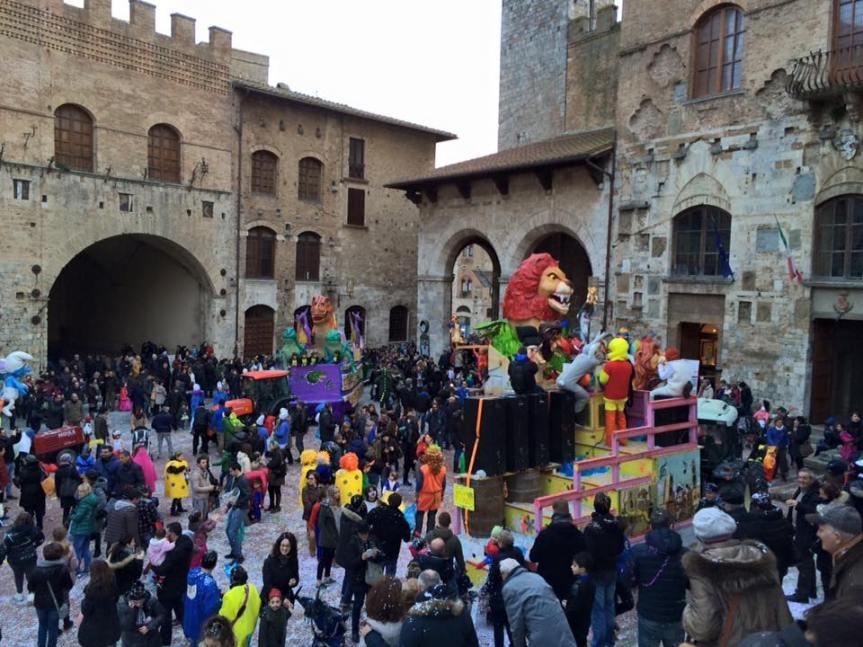Provincia di Siena: On line il Carnevale di SanGimignano