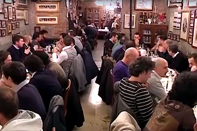 Palio di Siena: Oggi 08/02 Tradizionale cena dei Barbareschi al RistoranteGuido