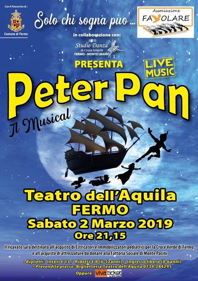 Cavalcata dell'Assunta, Contrada Fiorenza: 02/03 Peter Pan- IlMusical