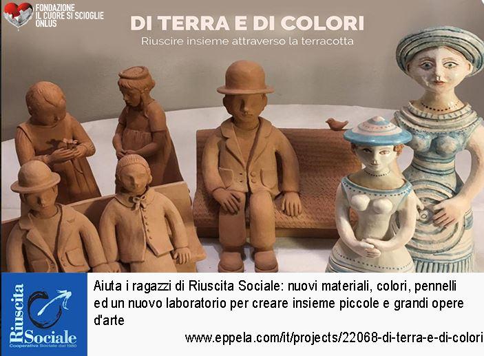 Siena: Raccolta Fondi per il Crowfounding della Cooperativa RiuscitaSociale