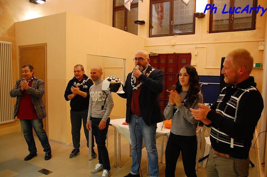 Palio di Ferrara, Rione San Paolo: Alla Cena del Capitano presente il fantino del Palio del 02/06 AdrianTopalli