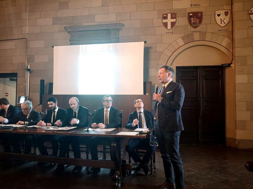 """Siena, In Sala delle Lupe per parlare di """"Attrazione di investimenti: Nuove rotte sul territorio""""."""