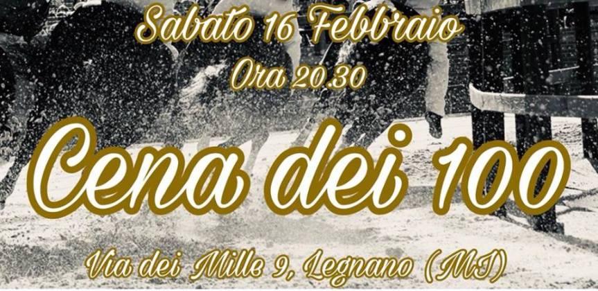 """Palio di Legnano, Contrada San Martino: 16/01 """"Cena dei100"""""""