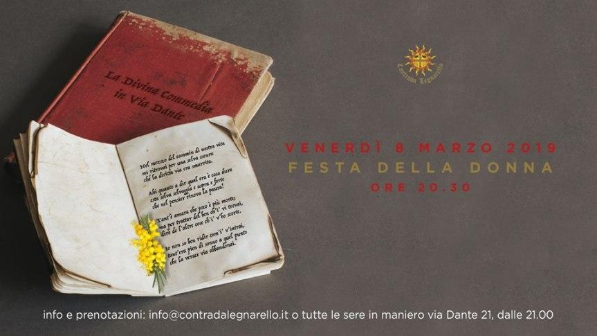 """Palio di Legnano, Contrada Legnarello: 08/02 """"Festa dellaDonna"""""""