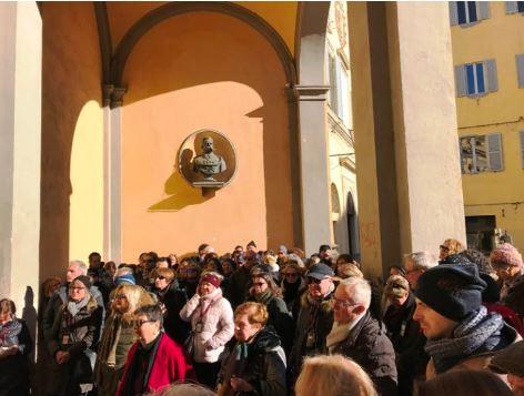 Siena: A Siena anteprima de Le Passeggiate d'Autore con oltre 100partecipanti