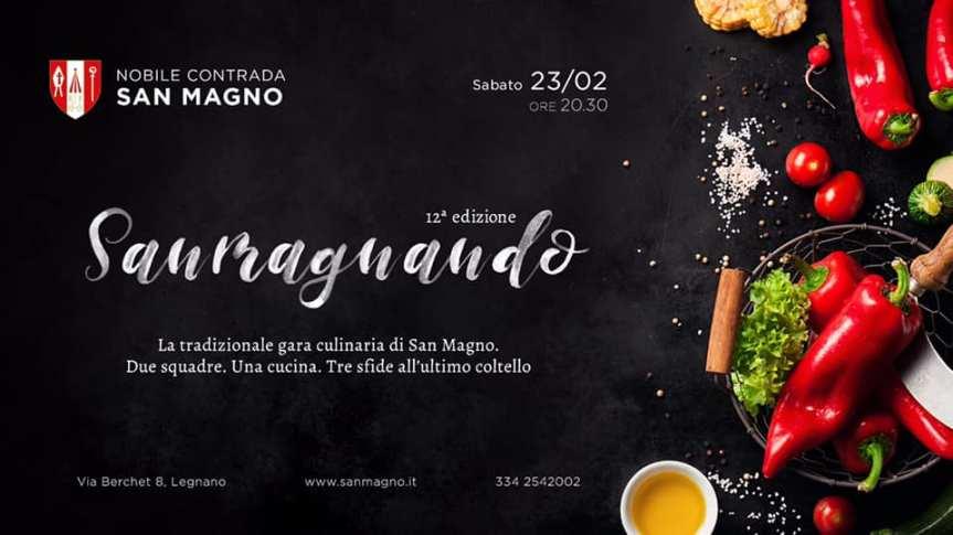"""Palio di Legnano, Contrada San Magno: Domani 23/02 """"SanMagnando"""""""