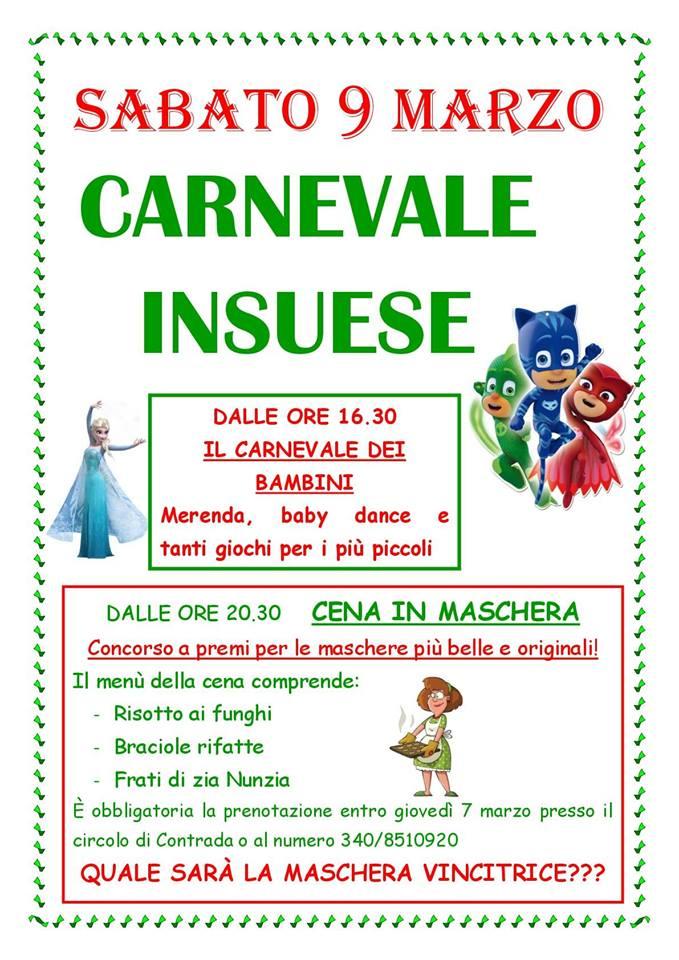 """Palio di Fucecchio, Contrada Sant'Andrea: 09/03 """" CarnevaleInsuese"""""""