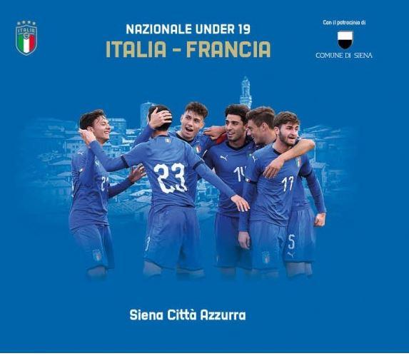 Siena: Calcio, il 13 febbraio allo stadio Franchi l'amichevole Italia-Francia under19
