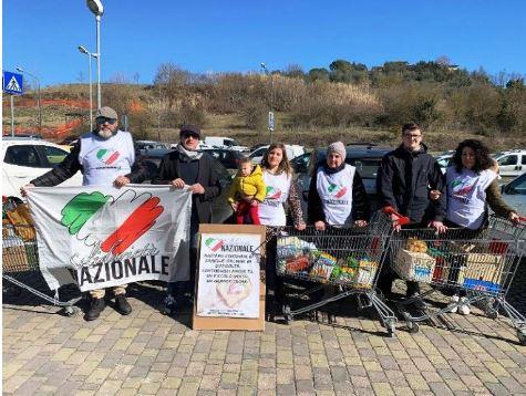 Siena: Solidarietà Nazionale, soddisfatti per la raccoltaalimentare