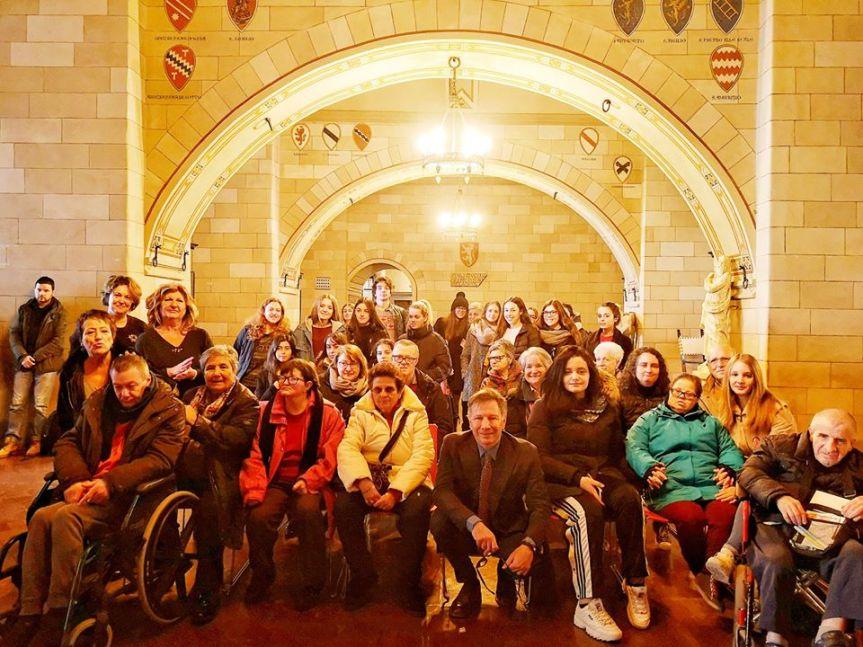 Siena: Visita speciale a Palazzo Pubblico per i ragazzi dell'Associazione IlLaboratorio
