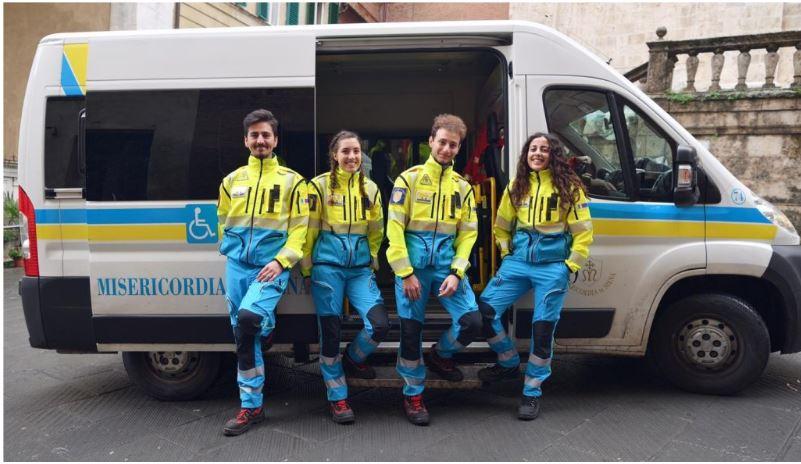 Provincia di Siena: Sopralluogo sulla scena del crimine: i volontari della Misericordia incontrano Carabinieri emagistrati