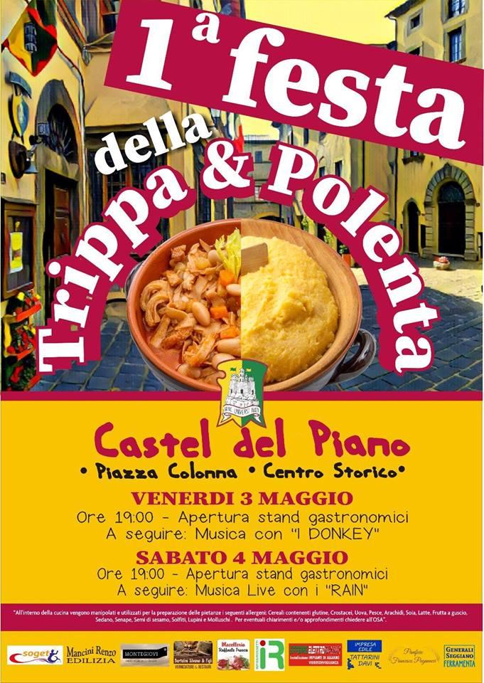 """Palio Di Castel Del Piano, Contrada Poggio. 03-04/05 1^""""Festa Festa Della Trippa &Polenta"""""""