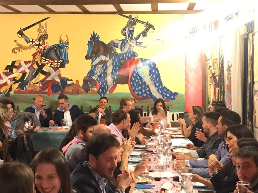 Palio di Asti, Comitato Palio Santa Maria Nuova: Oggi 30/03 in diretta dalla Cena delFantino