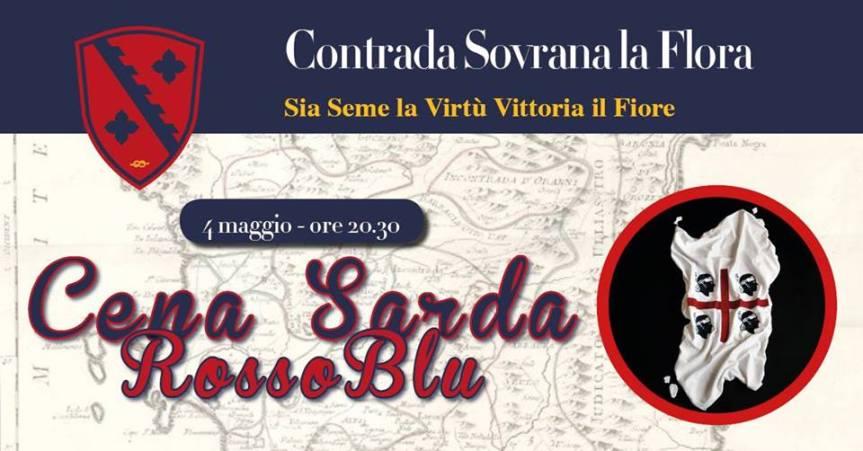 Palio di Legnano, Contrada La Flora: 04/05 Cena Sarda ✤2019