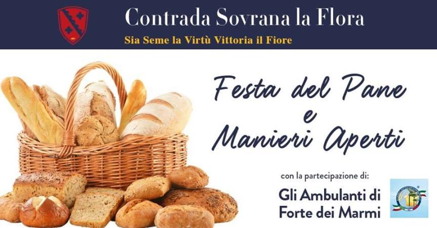Palio di Legnano, Contrada La Flora: 01/05 Festa del Pane e Manieri Aperti ✤2019