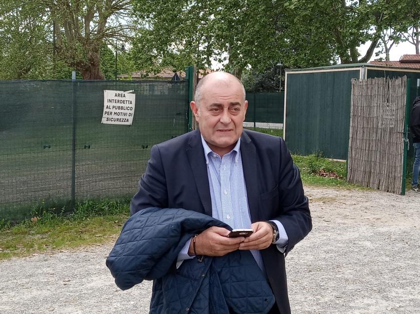 """palio di legnano, Gennaro Milone: """"Sempre favorevole ai cavalli purosangue, ma il futuro a Legnano sarà deimezzosangue"""""""