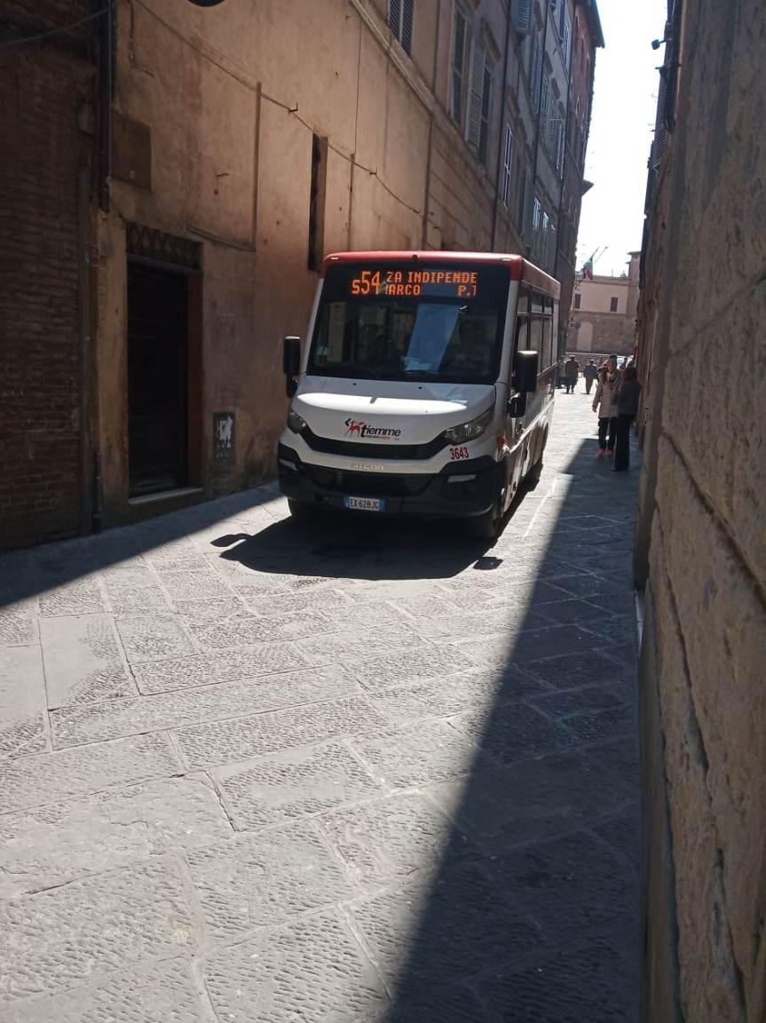 Siena: Cambiano i percorsi dei bus urbani per le modifiche alla circolazione nel centro storico08/06/2020