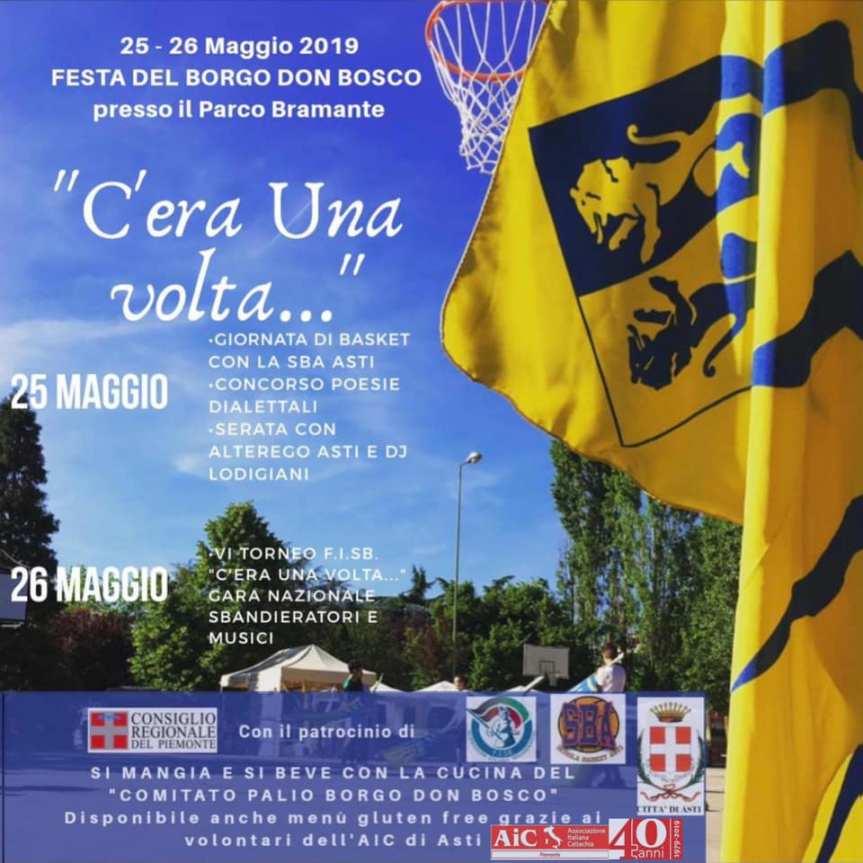 """Palio di Asti, Comitato Palio Borgo Don Bosco: 25-26/05 """"C'era UnaVolta"""""""