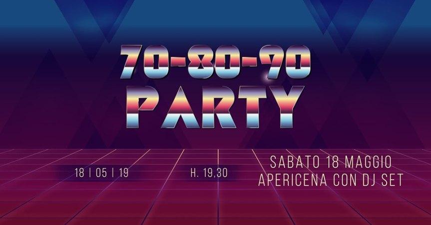 Palio di Legnano, Contrada la Flora: 18/05 Party '70 '80 '90 Apericena con DJSET