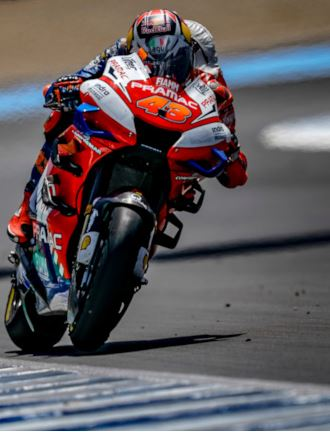Provincia di Siena, MotoGP Malesia, Pramac Racing: Miller 8° dopo una partenza spettacolare. Difficile gara per Bagnaia12°