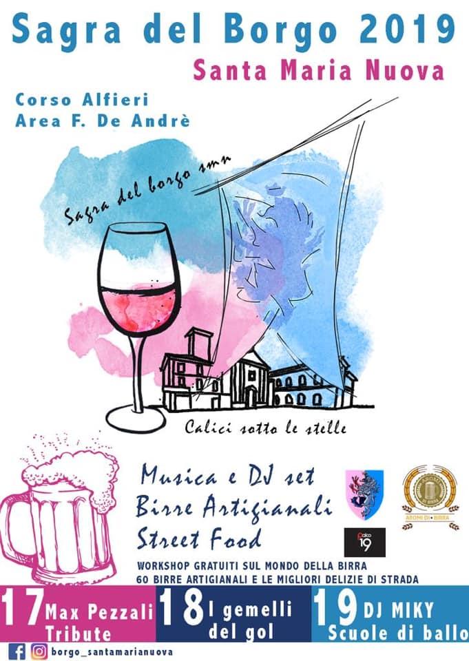 Palio di Asti, Comitato Palio Borgo Santa Maria Nuova: 16-17-18/05 Sagra del Borgo2019