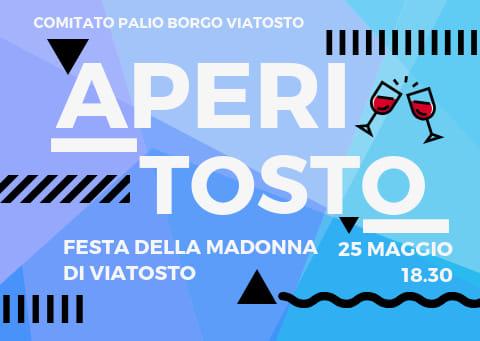 Palio di Asti, Borgo Viatosto: Domani 25/05 AperiTostoTime