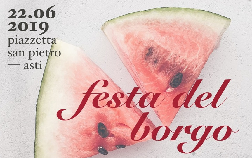 """Palio di Asti, Comitato Palio Borgo San Pietro: 22/06 """"Festa del Borgo // Solstizio d'estate"""""""
