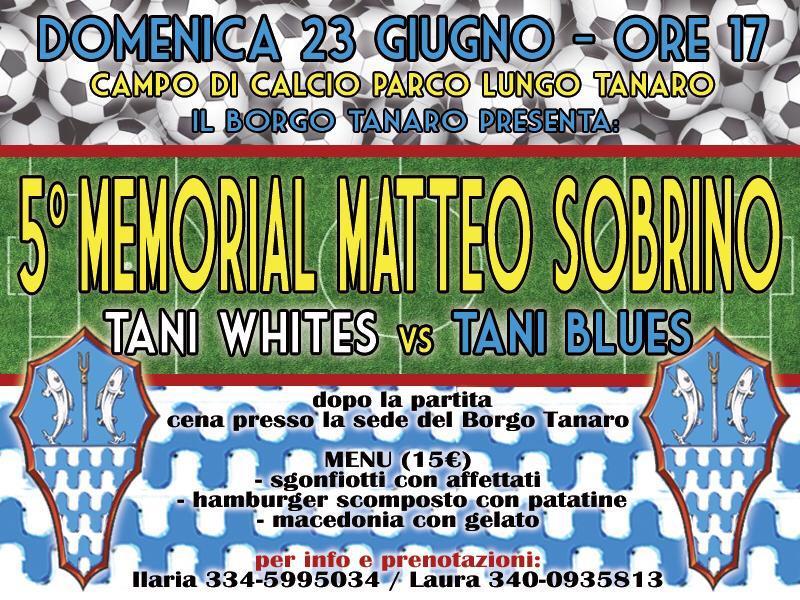 """Palio di Asti, Borgo Tanaro-Trincere-Torrazzo: 22/06 5° """"Memorial MatteoSorbino"""""""