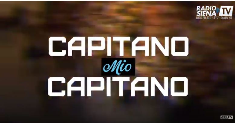 Palio di Siena: CAPITANO MIO CAPITANO – SIMONE MANGANELLI(BRUCO)
