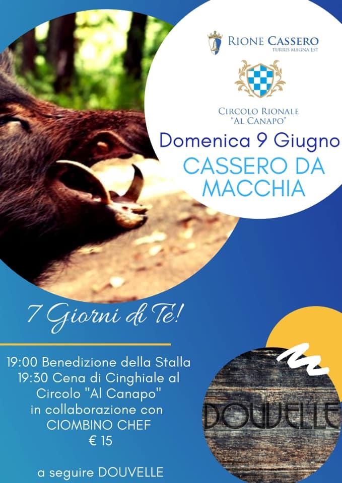 """Palio di Castiglion Fiorentino, Romne Cassero: 09/06 """"Cassero daMacchia"""""""