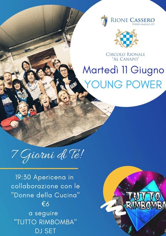 """Palio di Castiglion Fiorentino, Roine Cassero: 11/06 """"YoungPower"""""""