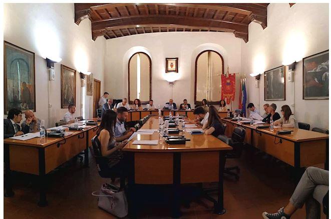 """Provincia di Siena, Primo Consiglio comunale a Poggibonsi, il sindaco Bussagli: """"Grazie per la fiducia. Lavoreremo insieme per il bene dellacittà"""""""