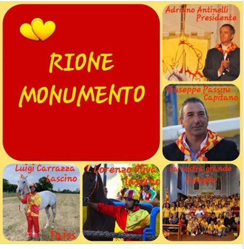 Corse a Vuoto Ronciglione: Conosciamo il RioneMonumento