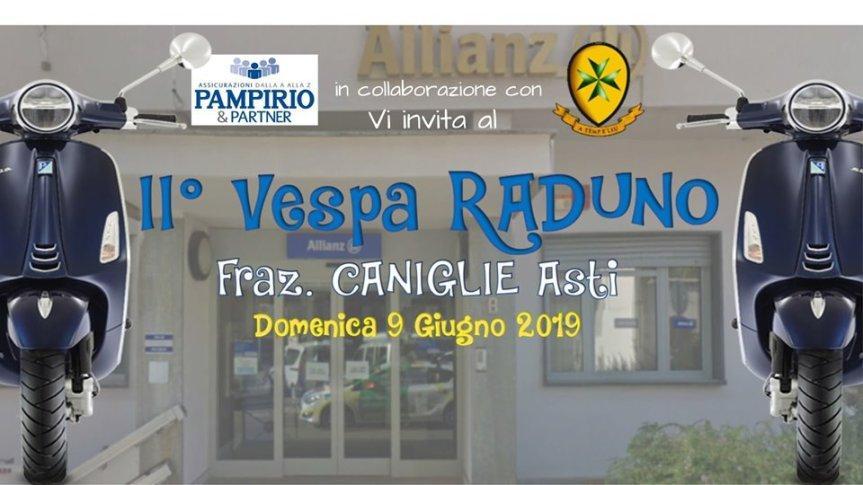 Palio di Asti, Comitato Palio Borgo San Lazzaro: 09/06 II Vespa Raduno – Fr. CaniglieAsti