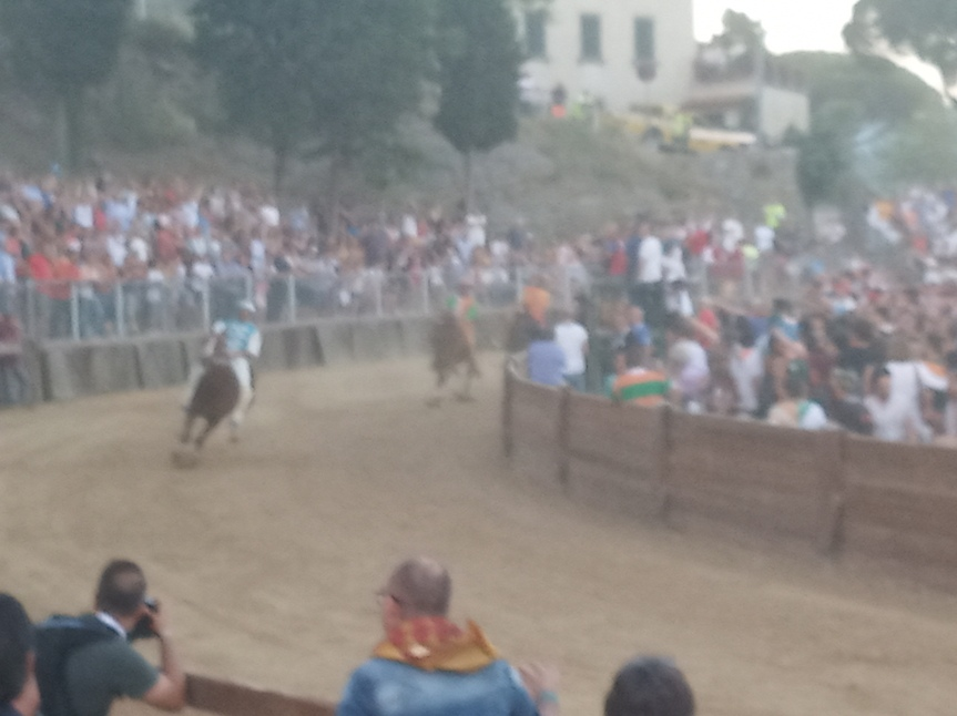 Palio di Castiglion Fiorentino: Il vincitore AdrianTopalli