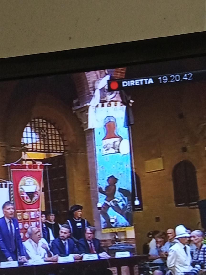 Palio di Siena: Presentato il Drappellone del Palio del02/07