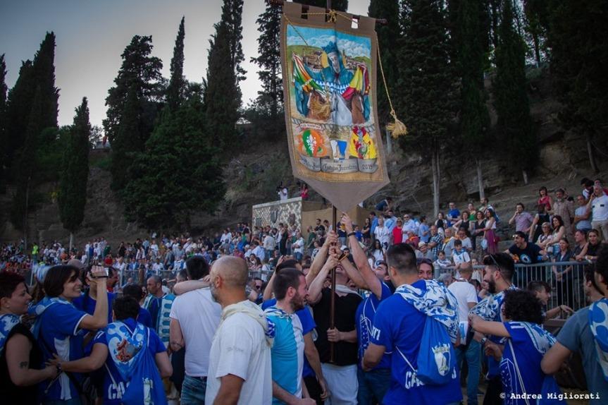 Palio di Castiglion Fiorentino: Comunicato Stampa dell'Ente Palio sulle presenze durante ilPalio