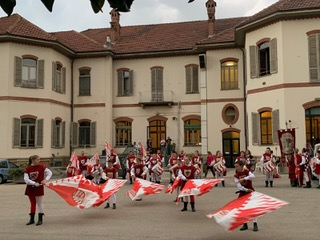palio di Asti, Comitato Palio Rione San Secondo: San Secondo – Il resoconto dell'intervento alla Casa di Riposo diAsti