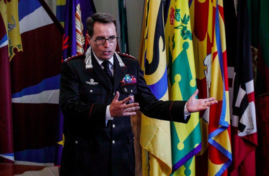 """Siena, il comandante dei carabinieri Di Pace: """"Furti in appartamento diminuiti ma teniamo alta laguardia"""""""