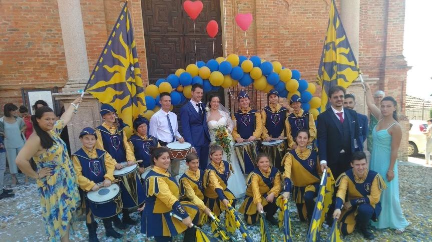 Palio di Asti, Comitato Palio Borgo San Marzanotto: Sabato 13/07 si è sposato il Rettore EmilDovico