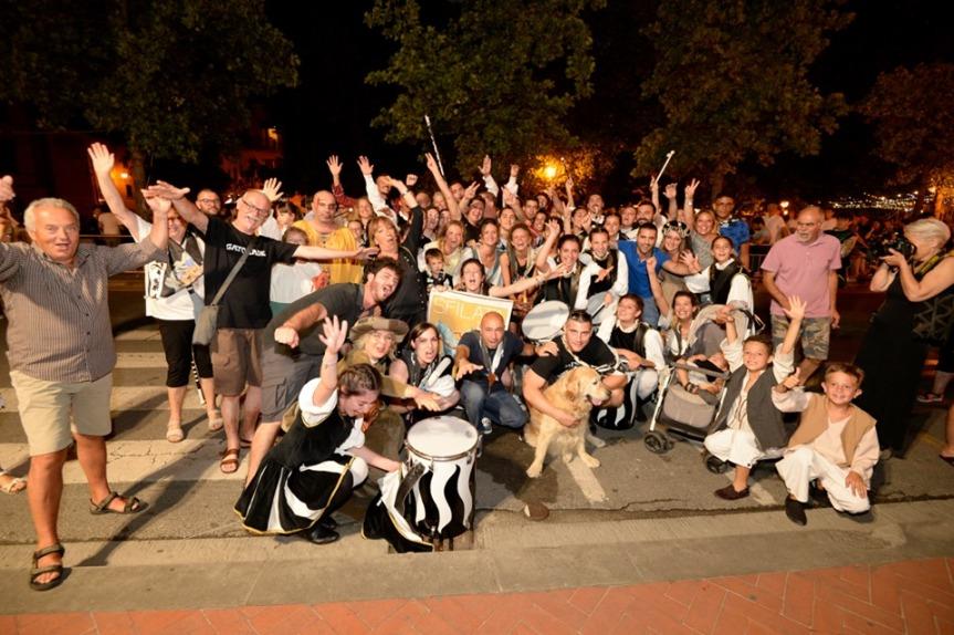 Palio di Bientina: La Contrada Centro Storico si è aggiudicata la Sfilata Storica di ieri13/07
