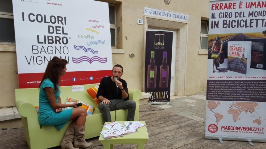 """Provincia di Siena: Ilaria Cucchi, Laura Morante e Antonella Boralevi a Bagno Vignoni con """"I colori dellibro"""""""