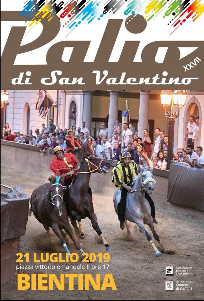 Palio di Bientina: Programma dei giorni19-20-21/07