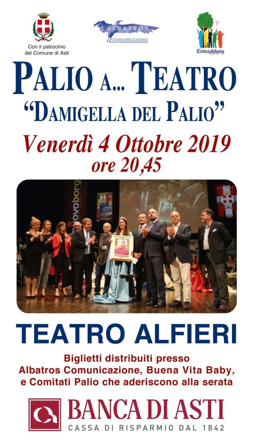 """Palio di Asti: Fervono i preparativi per un'edizione """"grandi numeri"""" della Damigella del Palio a…Teatro"""""""