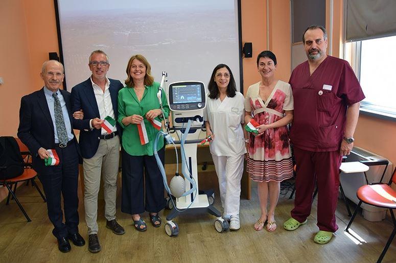 Siena, Il cuore delle associazioni senesi: donato innovativo ventilatore polmonare al Dipartimento Cardio-Toraco-Vascolare