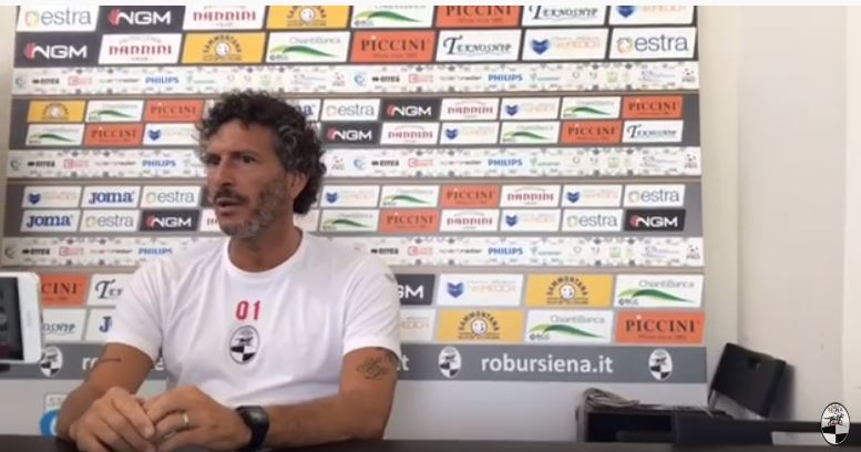 "Siena, Robur Siena, Mister Dal Canto: ""Carrarese squadra forte, sarà una partitadelicata"""