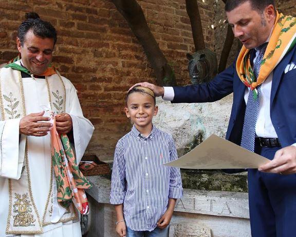 Siena, Contrada della Selva: Fotogallery Battesimi del15/08